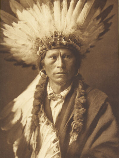 Edward Sheriff Curtis, 'Chief Garfield - Jicarilla', 1907-1930