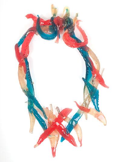 Gaetano Pesce, 'Isolde, Necklace', 2015