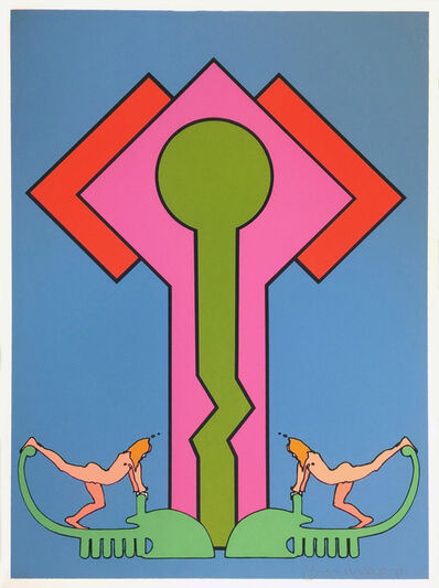 Peter Max, 'COLLOSSUS II', 1971