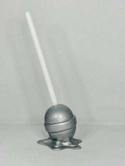 Elena Bulatova, 'Micro Silver Lollipop', 2020