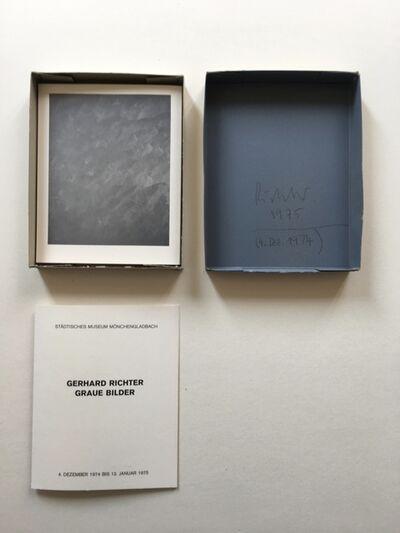 Gerhard Richter, 'Graue Bilder (Grey Pictures)', 1974