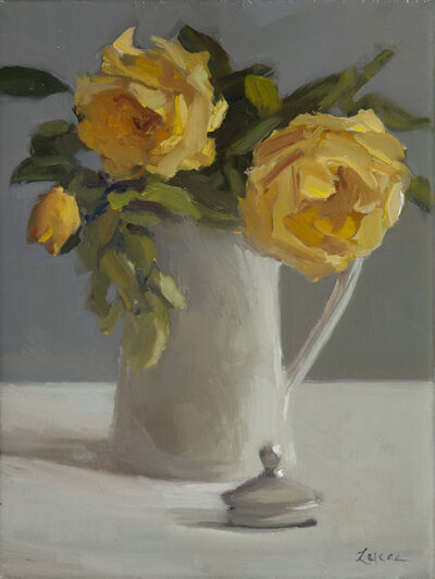 Maryann Lucas, 'Yellow Roses', 2017