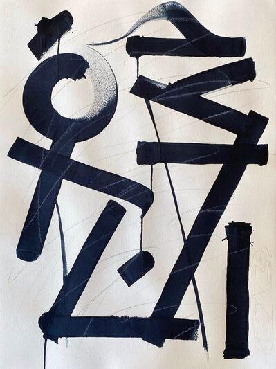 RETNA, 'Untitled Paper XVIII', 2018