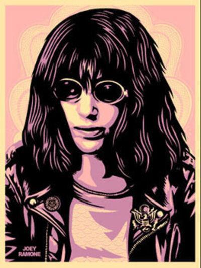 Shepard Fairey, 'Joey Ramone - Pink', 2005