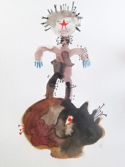Wole Lagunju, 'Power Drunk II', ca. 2019
