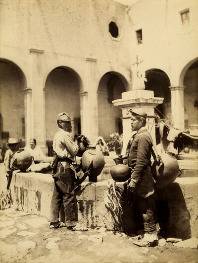 William Henry Jackson, 'Mexican Aguadores', ca. 1880's