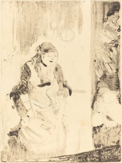 Edgar Degas, 'Mlle Bécat', ca. 1877/1878