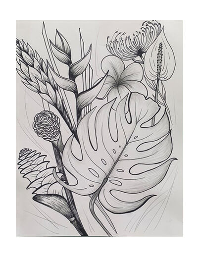 Delilah Ray Miske, 'Hana Tropicals', 2021