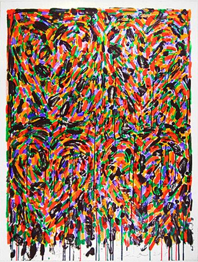 Jim Dine, 'Hand Painted Afrika', 2005