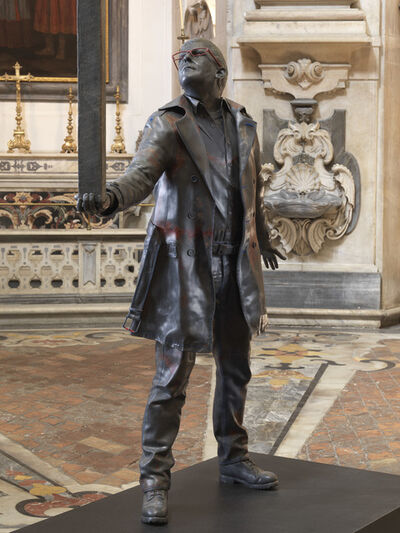Jan Fabre, 'The man who bears the cross', 2015