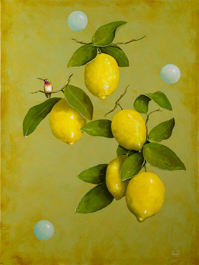 Jeff Faust, 'Haiku Among the Lemons', 2020