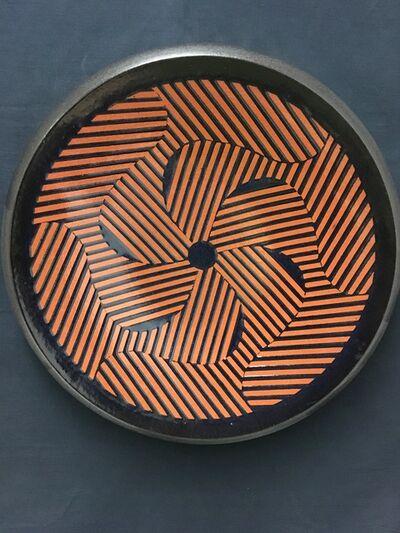 Frank Gaydos, 'Large Pinwheel Platter A', 2017