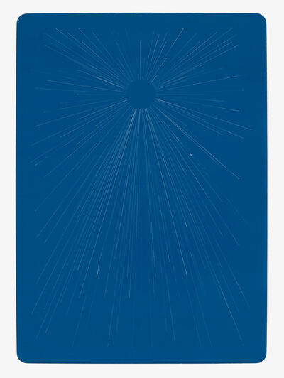Kate Shepherd, 'New Day Blue Card', 2019