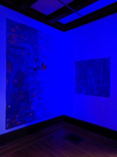 Ellen Hackl Fagan, 'Seeking the Sound of Cobalt Blue_Immerserd in Blue', 2019