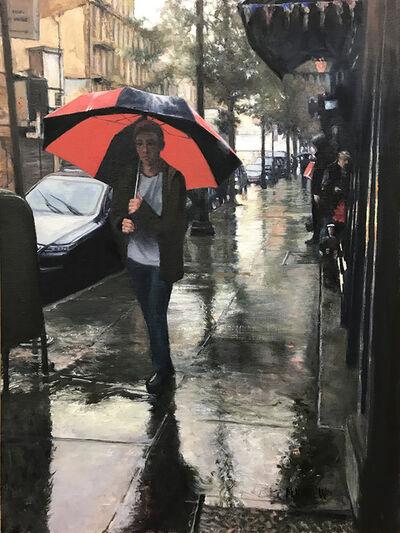Mary Carew, 'The Red Umbrella', 2019