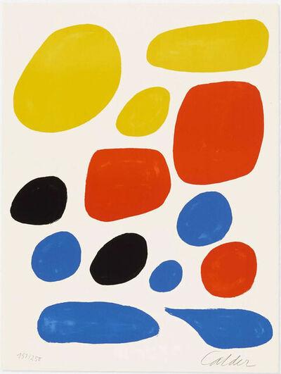 Alexander Calder, 'Untitled (from the Flight Portfolio)', 1971