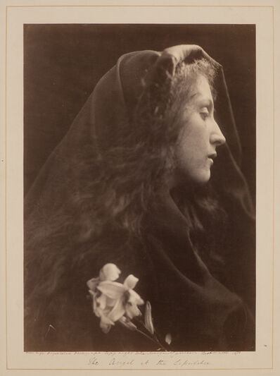 Julia Margaret Cameron, 'The Angel at the Sepulchre', 1869-printed in 1872