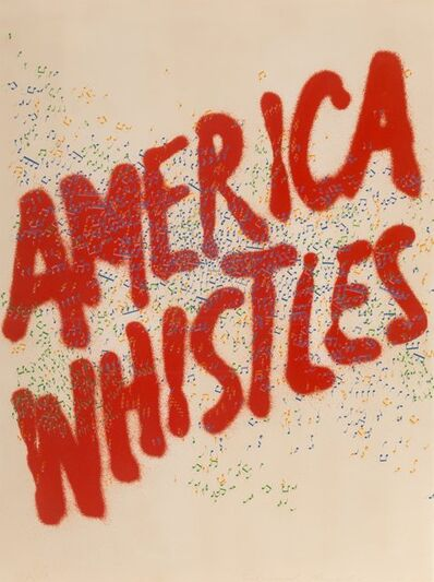 Ed Ruscha, 'American Whistles, from American the Third Century', 1975
