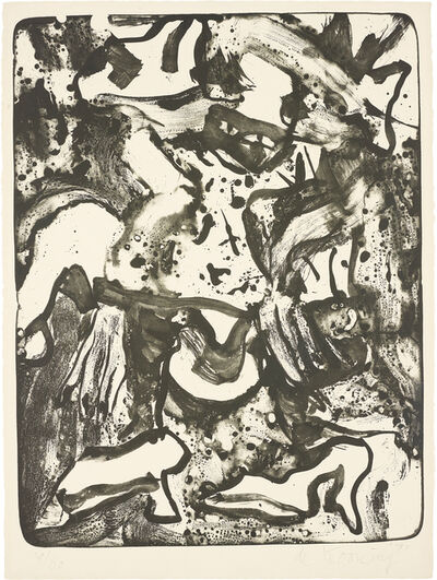 Willem de Kooning, 'Minnie Mouse', 1971