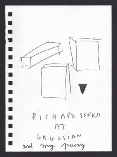 Anne-Lise Coste, 'Richard Serra', 2013