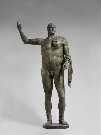 Unknown Roman, 'Bronze statue of the emperor Trebonianus Gallus', 251–253