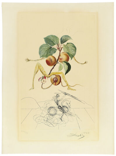Salvador Dalí, 'FlorDalí (Les Fruits)', 1969-1970