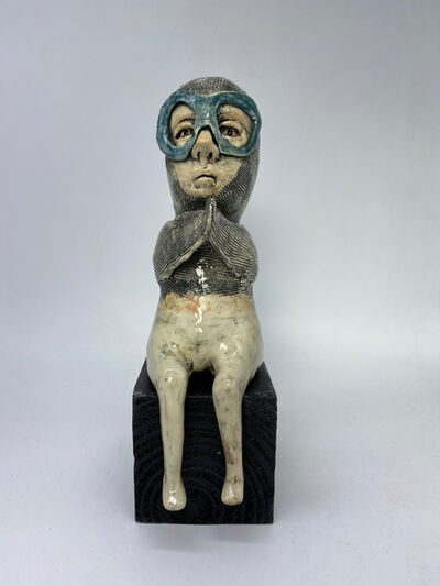 Ashley Benton, 'Figurative Ceramic Sculpture: 'Oh That Is Inspiring'', 2021