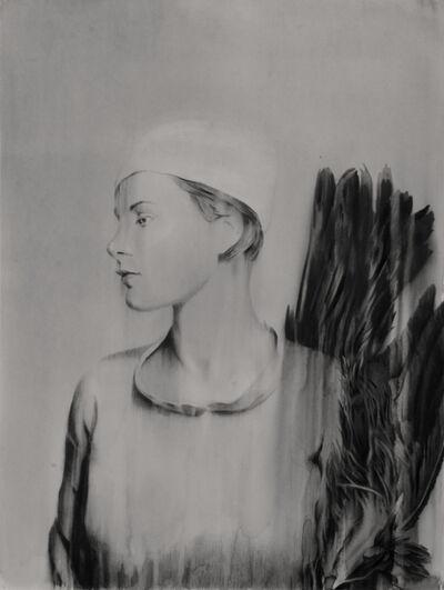 Jose Luis Puche, 'Warbonnets woman', 2017