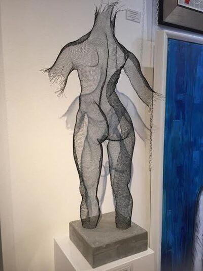 "Ofer Rubin, 'Mesh Sculpture ""The Under Construction Series"" ', 2018"
