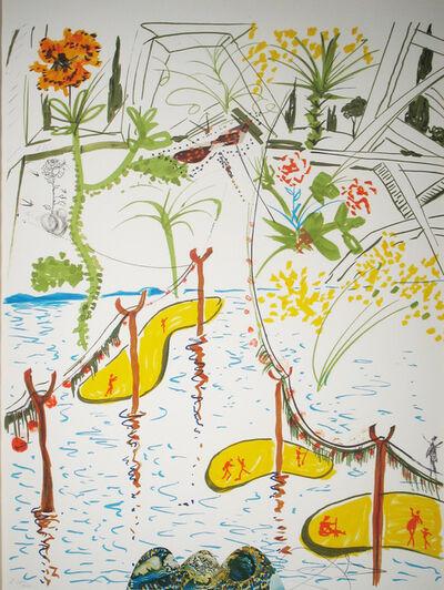Salvador Dalí, 'Biological Garden', 1975