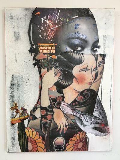Stikki Peaches, 'Naomi Katsura Campbell', 2018