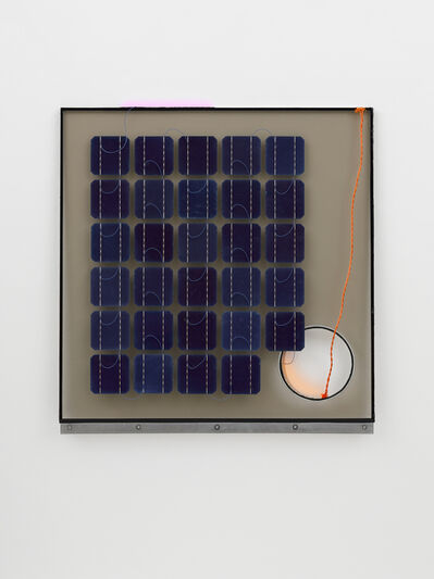 Haroon Mirza, 'Solar Cell Circuit 8 Reconfigured', 2014-2015