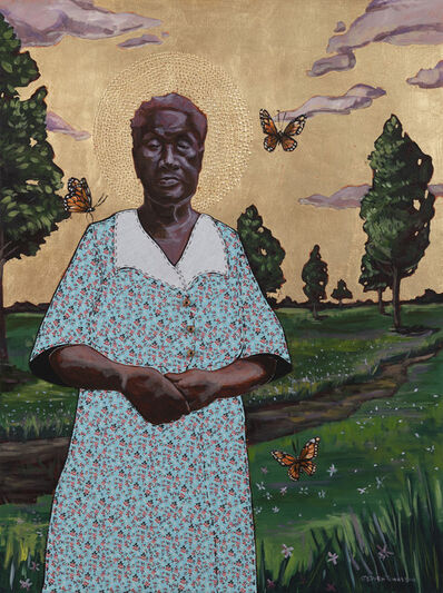 Stephen Towns, 'Portrait of Betty Simmons', 2018