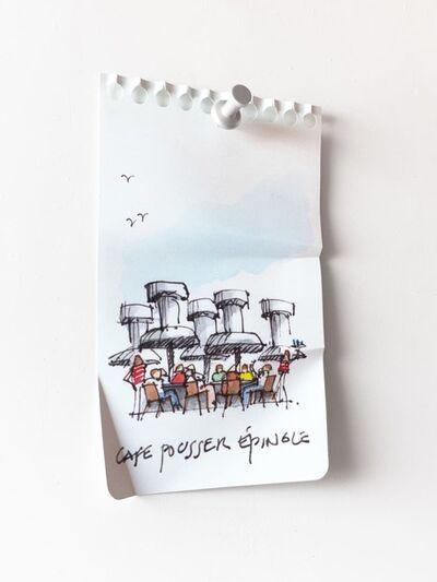 Miles Jaffe, 'Café Pousse Épingle', 2020