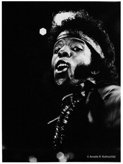Amalie R. Rothschild, Jr., 'Sly Stone at Newport, July 5, 1969', 1969