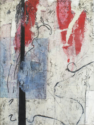 Claudia Marseille, 'Blue and Red', 2016