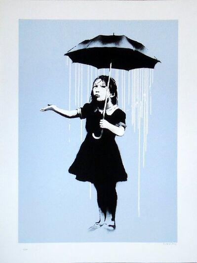 Banksy, 'Nola (White Rain) ', 2008