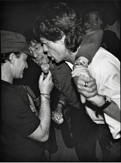 Jean Pigozzi, 'Bono, Ron Wood and Mick Jagger, Mick's Birthday Party, Villa Dorane, Antibes, France, 1999', 1999