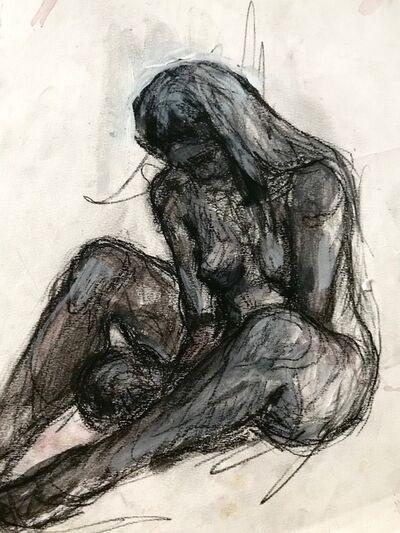 Elly Smallwood, 'Nude, sitting', 2018