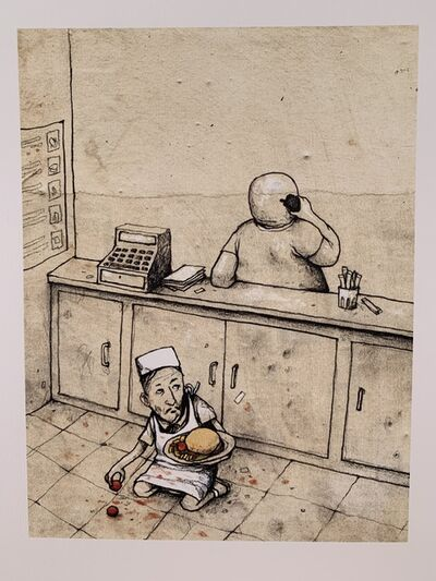 "dran, 'DRAN ""FOOD HYGIENE"" PARIS EXCLUSIVE PRINT, LTD EDT', 2016"