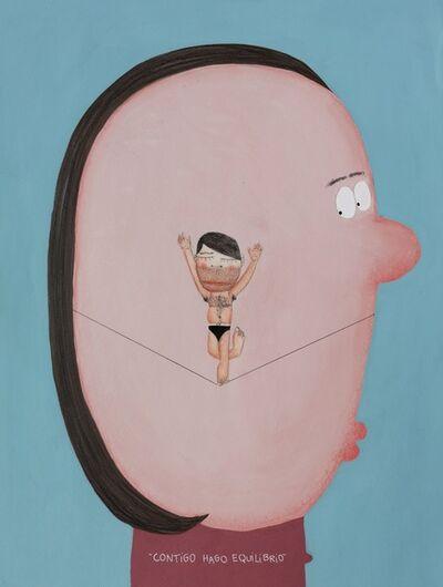 Moisés Yagües, 'Contigo hago equilibrio', 2021