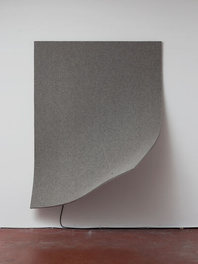 Naama Tsabar, 'Work On Felt (Variation 13), Grey, ', 2016