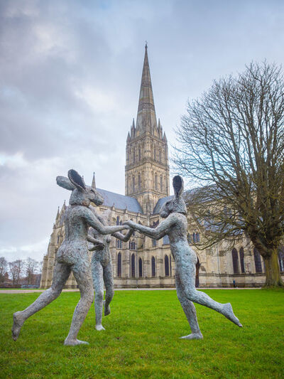Sophie Ryder, 'Dancing Ladies', 2013
