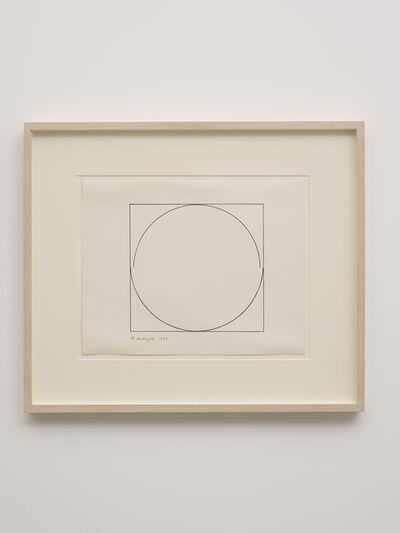 Robert Mangold, 'Untitled', 1972