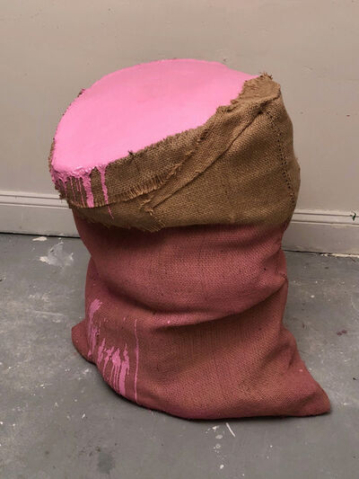 Howard Schwartzberg, 'Sack Painting (Pink)', 2017