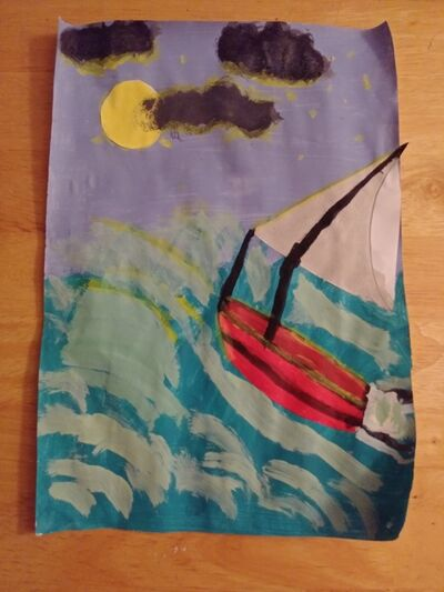 Renee Bray, 'I, Alone Face the Full Moon and Waves of the Sea', 2020