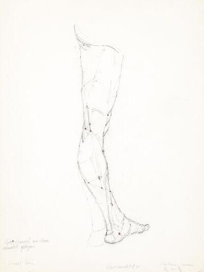 Joannis Avramidis, 'Left Leg', 1987