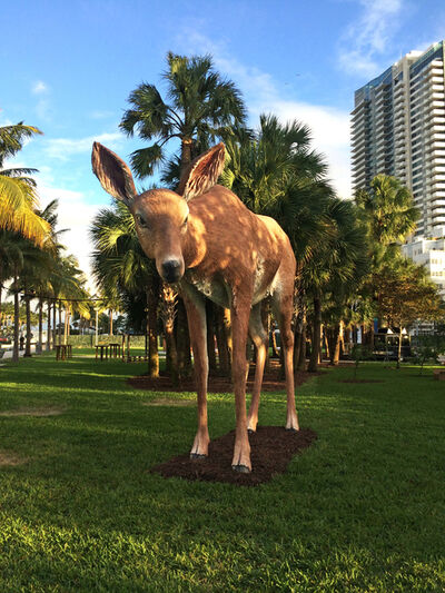 Tony Tasset, 'Deer', 2015