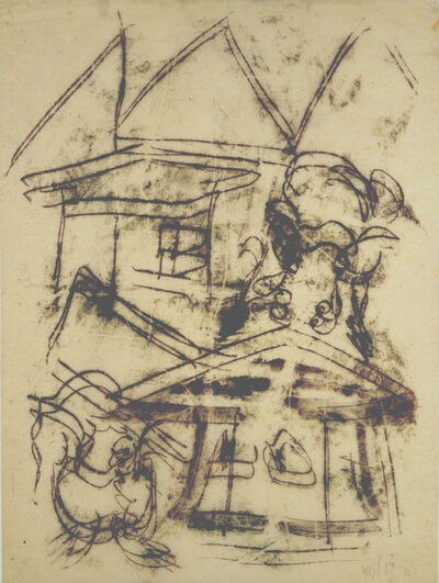 Fritz Winter, 'Ohne Titel (Häuser) (Untitled (Houses))', 1929