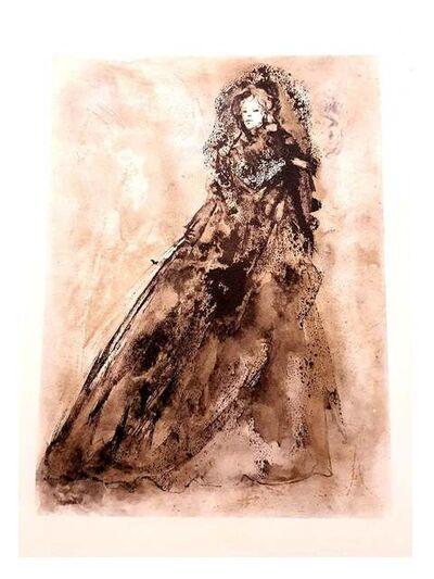 Leonor Fini, 'Leonor Fini - The Flowers of Evil - Original Lithograph', 1964